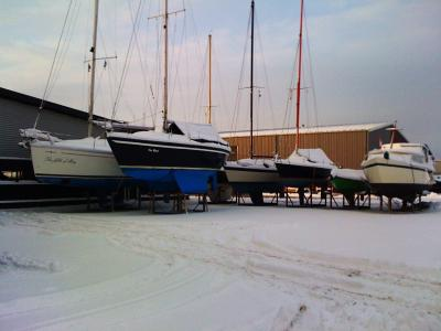 Jachthaven in de winter 3