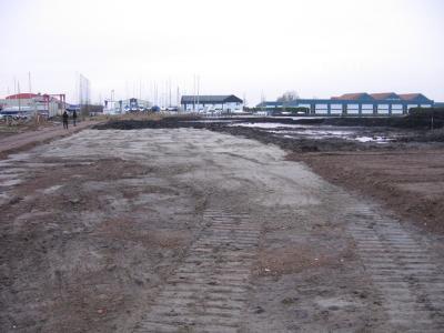 Bouw jachthaven 2